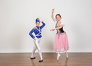 Dance Connection Palo Alto students pose for portraits during Nutcracker Photo Day at Dance Connection Palo Alto in Palo Alto, California, on October 23, 2016. (Stan Olszewski/SOSKIphoto)