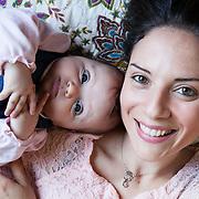 Federica and Giulio - Naples, April 2016. Federica, 30 years old, with her daughter Eleonora, born on December 2015.<br /> Federica has been aware to be affected by multiple sclerosis from 2012. Despite the difficulties, she did not allow the disease to compromise her happiness and the desire to be a mother.<br /> <br /> Federica e Giulio - Napoli, Aprile  2016.&nbsp;Federica, 30 anni, con la figlia Eleonora, nata nel Dicembre 2015.<br /> Federica ha saputo di essere affetta da sclerosi multipla nel 2012. Nonostante le difficolt&agrave; non ha permesso che la patologia compromettesse la sua felicit&agrave; e desiderio di essere madre.