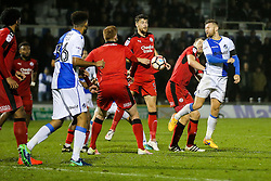 Matt Taylor of Bristol Rovers - Rogan Thomson/JMP - 15/11/2016 - FOOTBALL - Memorial Stadium - Bristol, England - Bristol Rovers v Crawley Town - FA Cup First Round Replay.
