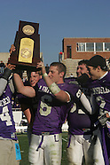 NCAA Championship: Stagg Bowl 32:  Linfield 28,  Mary Hardin-Baylor 21
