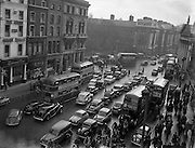 13/11/1954<br /> 11/13/1954<br /> 13 November 1954<br /> Traffic scenes on Westmoreland Street, Dublin - Special for C.I.E..