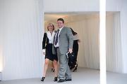 LUCIAN GRAINGE; CAROLINE GRAINGE, Ark- Absolute Return for Kids. Fundraiser at Waterloo Euroster terminal. London. 13 May 2010. -DO NOT ARCHIVE-© Copyright Photograph by Dafydd Jones. 248 Clapham Rd. London SW9 0PZ. Tel 0207 820 0771. www.dafjones.com.