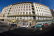 The Naschmarkt, Vienna's biggest market. Famous art deco houses along the Wienzeile by Otto Wagner.