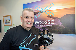 #hellodigital Extra 2017 event, held at Eden Court in Inverness.<br /> <br /> Pictured: Craig Jump (Ecosse From Above Limited) with a 360 degree camera<br /> <br /> Malcolm McCurrach | EEm | Mon, 20, February, 2017