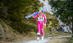19.12.2014, Nordische Arena, Ramsau, AUT, FIS Nordische Kombination Weltcup, Skisprung, Training, im Bild Mateusz Wantulok (POL) // during Ski Jumping of FIS Nordic Combined World Cup, at the Nordic Arena in Ramsau, Austria on 2014/12/19. EXPA Pictures © 2014, EXPA/ JFK