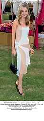 MISS AMANDA HEARST great-granddaughter of publishing czar William Randolph Hearst, at a party in London on 16th June 2004.PWG 156