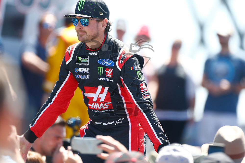 June 24, 2018 - Sonoma, California , USA: Kurt Busch (41) gets ready for the TOYOTA/SAVE MART 350 at Sonoma Raceway in Sonoma, California .