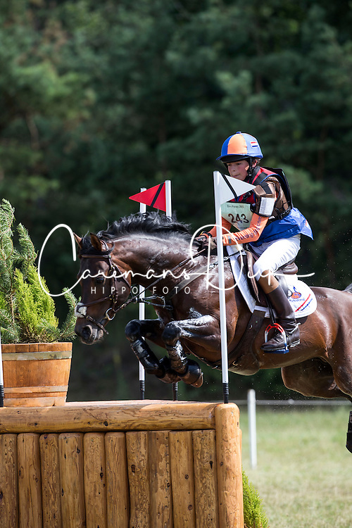 Driessen Levi (NED) - Knock Out<br /> European Championship Poney - Fontainebleau 2012<br /> © Dirk Caremans