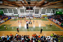 Arena during volleyball match between ACH Volley Bled and UKO Kropa at final of Slovenian National Championships 2011, on April 27, 2011 in Arena SGTS Radovljica, Slovenia. ACH Volley defeated Kropa 3-0 and became Slovenian National Champion 2011. (Photo By Vid Ponikvar / Sportida.com)