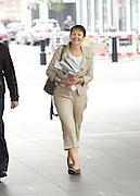 Andrew Marr Show arrivals <br /> at BBC Broadcasting House, London, Great Britain <br /> 18th September 2016 <br /> <br /> <br /> Caroline Lucas MP <br /> co-leader Green Party <br /> <br /> <br /> Photograph by Elliott Franks <br /> Image licensed to Elliott Franks Photography Services