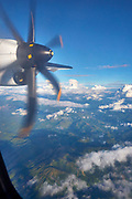 Laos. Aboard a Lao Airlines ATR 72.