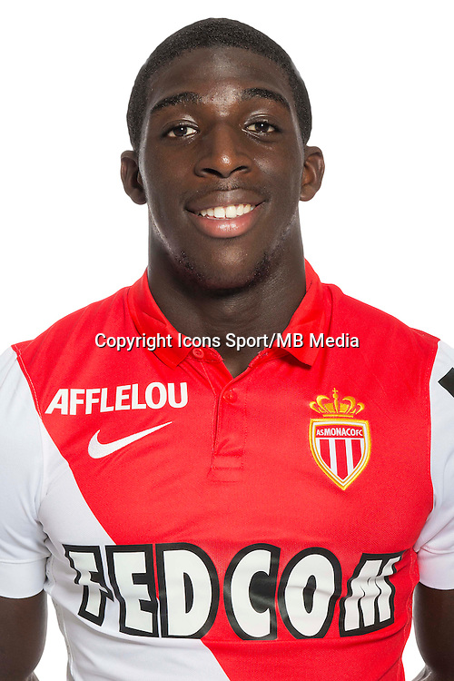 Aboubakar KAMARA - 29.08.2014 - Photo officielle Monaco - Ligue 1 2014/2015<br /> Photo : Stephane Senaux / AS Monaco / Icon Sport