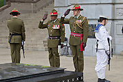 Armistice Day at the National War Memorial in Wellington, New Zealand on Wednesday 11 November 2015