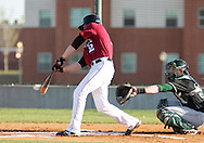 March 12, 2012: The Oklahoma Baptist University Bison play against the Oklahoma Christian University Eagles at Dobson Field on the campus of Oklahoma Christian University.