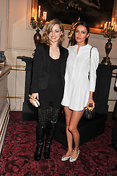 Left to right, SASHA VOLKOVA and MELISSA GEORGE at the Audi Ballet Evening held at the Royal Opera House, Bow Street, Covent Garden, London on 22nd March 2012.