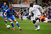 Wycombe forward Adebayo Akinfenwa (20) during the EFL Sky Bet League 1 match between Peterborough United and Wycombe Wanderers at London Road, Peterborough, England on 2 March 2019.