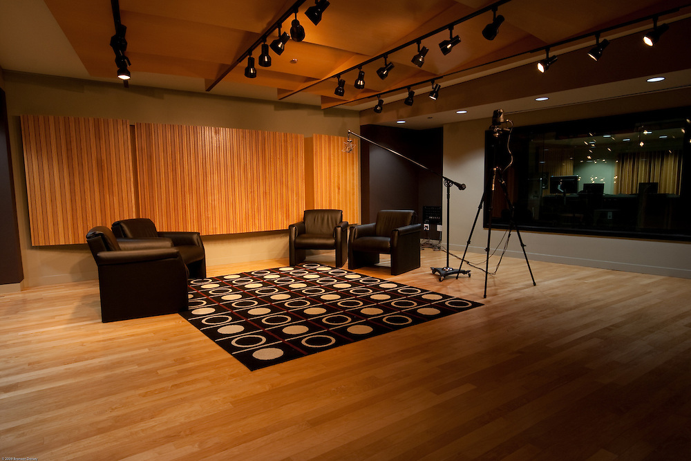 The Art Institute in Austin provides a fully-equipped recording studio.