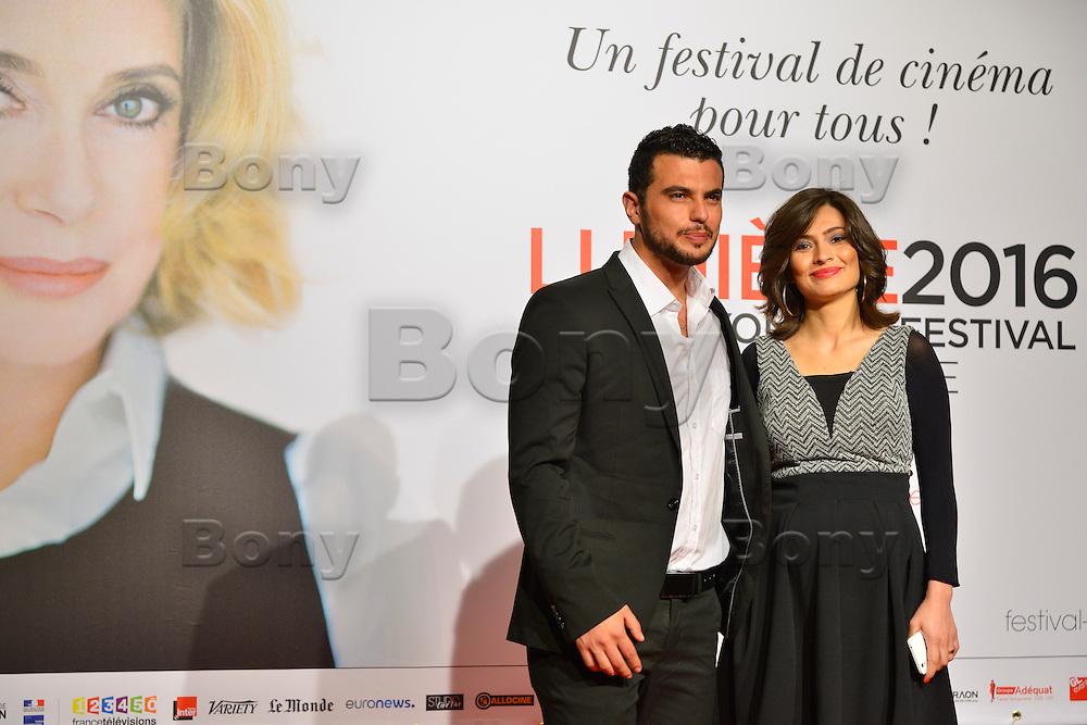 Mabrouk El Mechri &amp; Marina Golbahari<br /> Lyon 8 oct 2016 - Festival Lumi&egrave;re 2016 - C&eacute;r&eacute;monie d&rsquo;Ouverture<br /> 8th Film Festival Lumiere In Lyon : Opening Ceremony