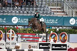 Al Duhami Ramzy (KSA) - Al Capone<br /> Furusiyya FEI Nations Cup Jumping Final Round 1<br /> CSIO Barcelona 2013<br /> © Dirk Caremans