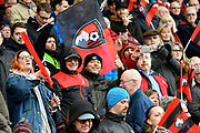 Bournemouth fans in good spirits before the Premier League match between Bournemouth and Tottenham Hotspur at the Vitality Stadium, Bournemouth, England on 11 March 2018. Picture by Graham Hunt.