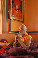 H.E. Drubwang Konchok Norbu Rinpoche at Drikung Kagyu Religious Society