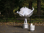 Therisa Barber, Ballerina/Mime<br /> Central Park, New York City.