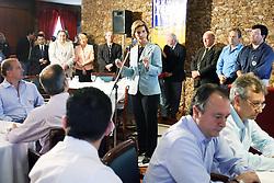 A candidata ao governo do Estado do RS Yeda Crusius durante almoço com deputados e senadores, eleitos e atuais. FOTO: Jefferson Bernardes/Preview.com