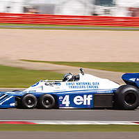 Tyrrell P34 GP Masters at Silverstone Classics 21/22 July 2012