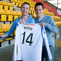 St Johnstone Players Sponsors Evening....12.05.11<br /> Kevin Moon<br /> Picture by Graeme Hart.<br /> Copyright Perthshire Picture Agency<br /> Tel: 01738 623350  Mobile: 07990 594431