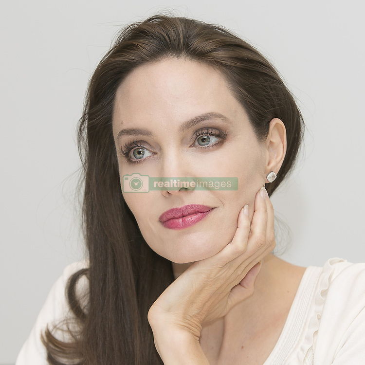 August 25, 2017 - Hollywood, CA, USA - Angelina Jolie is the Director of First They Killed My Father: A Daughter of Cambodia Remembers. This a true story of a Cambodian author and human rights activist Loung Ung as she recounts the horrors she suffered under the rule of the deadly Khmer Rouge. Angelina Jolie worked on this movie with her adopted son Matrox from Cambodia who is one of the Executive producers. This is an International film. The screenplay was written by Angelina Jolie and Loung Ung adapted from her book of the same name First They Killed My Father: A Daughter of Cambodia Remembers. (Credit Image: © Armando Gallo via ZUMA Studio)