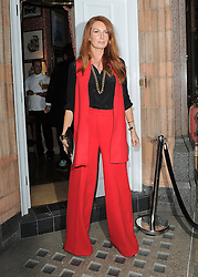 Angela Radcliffe attends Amanda Wakeley 25th Anniversary Party at Harry's Bar in London, UK. 07/09/2015<br /> BYLINE MUST READ : GOTCHAIMAGES.COM<br /> <br /> Copyright by © Gotcha Images Ltd. All rights reserved.<br /> Usage of this image is conditional upon the acceptance <br /> of Gotcha Images Ltd, terms and conditions available at<br /> www.gotchaimages.com