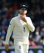 Joe Denly of England during the International Test Match 2019, fourth test, day two match between England and Australia at Old Trafford, Manchester, England on 5 September 2019.
