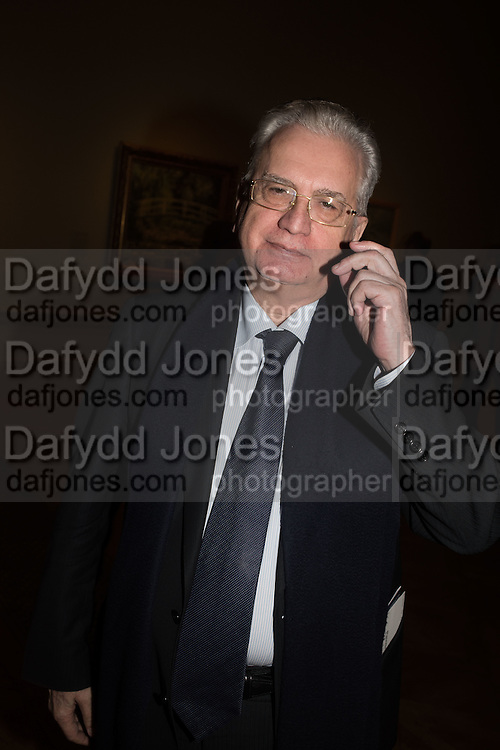 Mikhail Piotrovsky DIRECTOR OF THE HERMITAGE, Painting the Modern Garden: Monet to Matisse Royal Academy of Art. Piccadilly, London. 26 January 2016