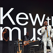 Billy Ocean performs at Kew The Music 2019 on 9 July 2019, Kew Garden, London, UK.