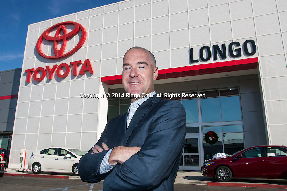 Brendan Harrington, president of Longo Toyota.<br /> Photo by Ringo Chiu/PHOTOFORMULA.com)