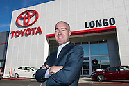 Brendan Harrington, president of Longo Toyota.