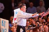 Mitt Romney Campaigns in Mesa