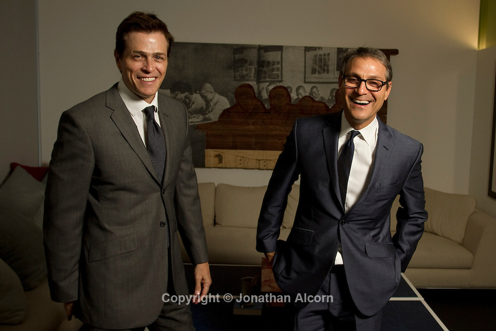 Patrick Whitesell and Ari Emanuel, senior partners at William Morris Endeavor