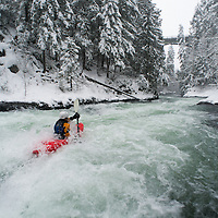 030314- White Salmon kayaking in snow