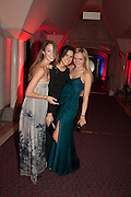 VITA WRIGHTSON; LIA LOUKAS; GIULIA BAZZONI, The Secret Winter Gala in aid of Save the Children and sponsored by Bulgari. Guildhall. London. 26 November 2013