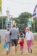 Henham Park, Suffolk, 19 July 2019. After washing - The 2019 Latitude Festival.