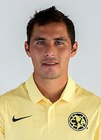 "Mexico League - BBVA Bancomer MX 2014-2015 -<br /> Aguilas - Club de Futbol America / Mexico - <br /> Paul Nicolas Aguilar Rojas "" Paul Aguilar """