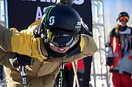 Tom Wallisch during Men's Ski Slopestyle Practice at the 2013 X Games Aspen at Buttermilk Mountain in Aspen, CO.  Brett Wilhelm/ESPN