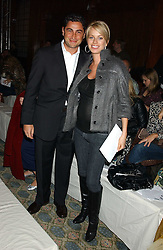 CEM & CAROLINE HABIB at Reach 4 Fashion 2005 in aid of the REACH Leukaemia Appeal hosted by designers Sadie Frost and Jemima French of fashion label FrostFrench held at 88 St.James' Street, London SW1 on 8th November 2005.<br />