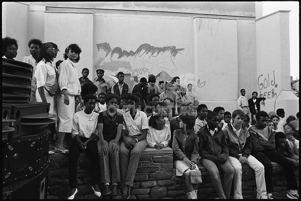 Wall Posse, St Paul's Carnival, 1986