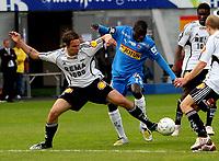 Fotball , 19. mai 2009 , Tippeligaen ,  Sandefjord - Rosenborg 2-2<br /> <br /> Malick Mane , Sandefjord og Vadim Demidov , RBK