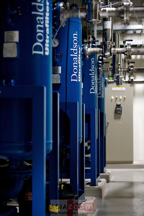 Veolia Showa's CDA area (Dryer) at Showa Denko plant