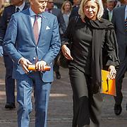 NLD/Den Haag/20180831 - Koninklijke Willems orde voor vlieger Roy de Ruiter, Jeanine Antoinette Hennis-Plasschaert, een Nederlandse politica