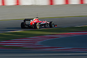 February 20, 2013 - Barcelona Spain. Max Chilton, Marussia F1 team