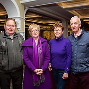 02.03.2017        <br /> Attending the Limerick City and County Councils Annual Tidy Towns Seminar 2017 at the Woodlands House Hotel Adare Co. Limerick were, John McCarthy, Marie Chavan and Michael O'Loughlan of Kiltely Tity Towns with Cllr. Bridget Teefy (2nd from left). Picture: Alan Place